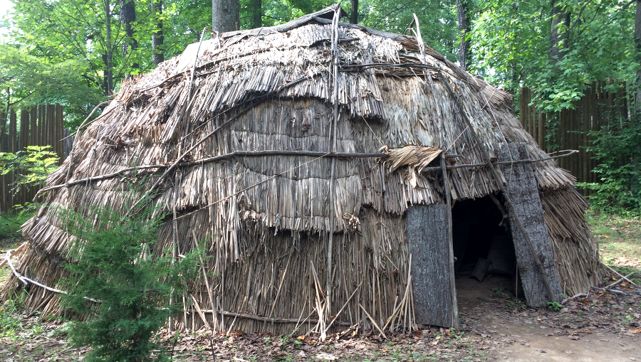 Native American Structures In Virginia
