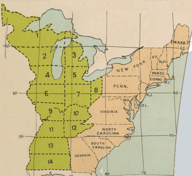 Virginia S Cession Of The Northwest Territory