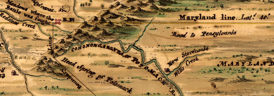 The Northern Boundary Of Maryland Was Originally Defined At The 40 Degree Line Of Laude