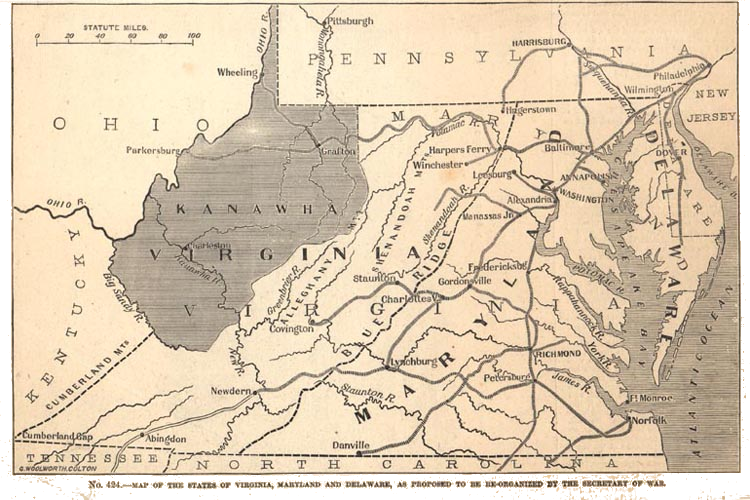 West Virginia could have been much smaller...