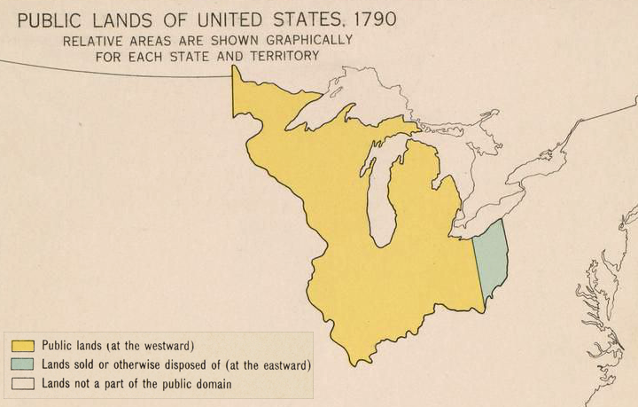 The Us Government Surveyed And Sold The Lands In The Northwest Territory Starting With Eastern