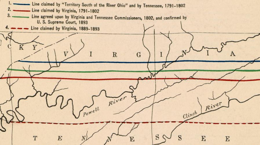 Virginia-Tennessee Boundary