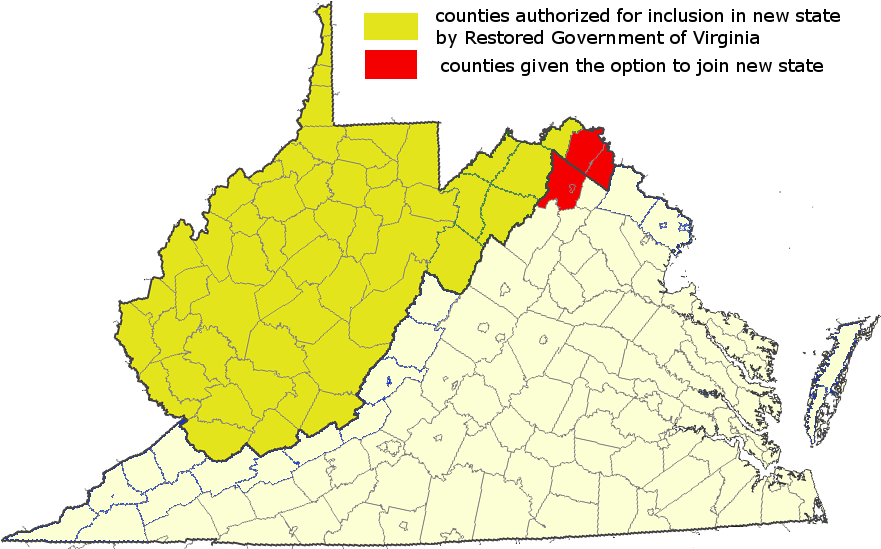 Virginia-West Virginia Boundary