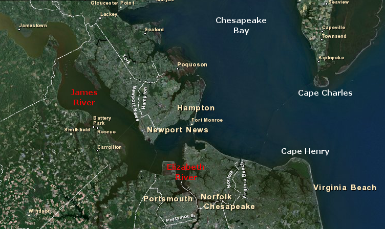 The Chesapeake Bay Avenue for Attack