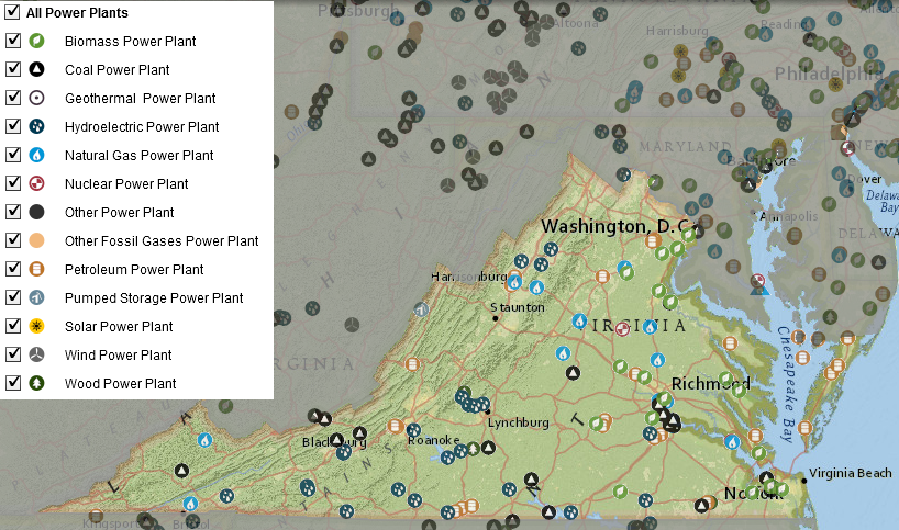 Electricity Transmission in Virginia