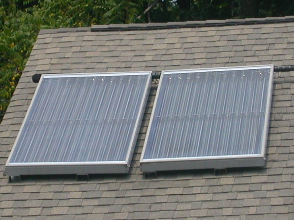 Solar Power In Virginia Mounted Hot Water Collectors Addition Electric Dryer Wiring Hathaway Home Loudoun County