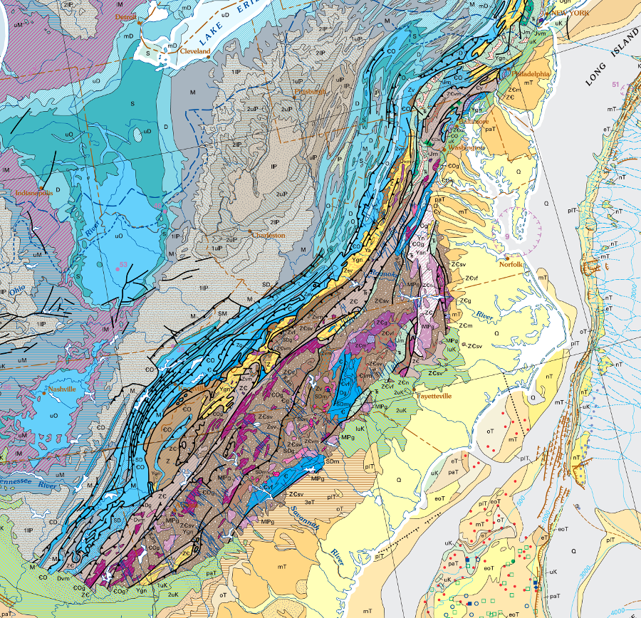 Where Are the Appalachians?