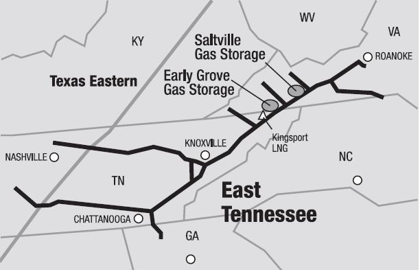 Saltville Natural Gas Storage