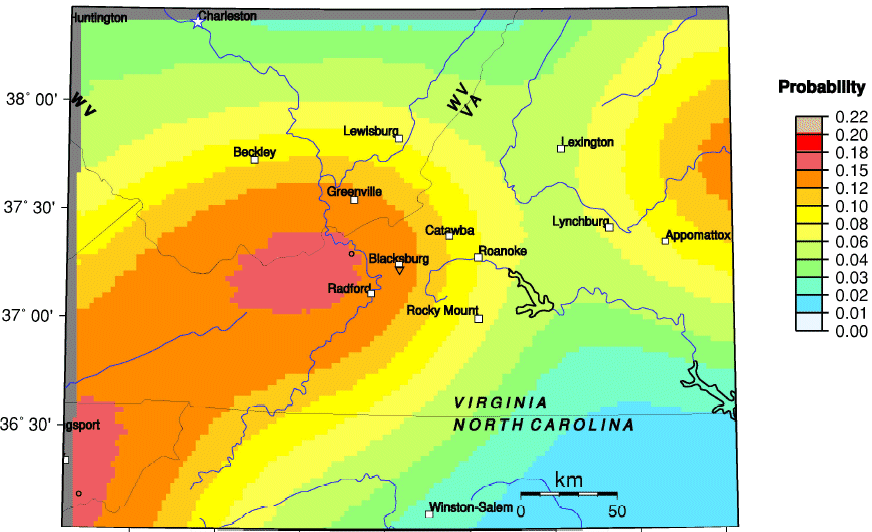 Virginia Earthquakes - American quakes