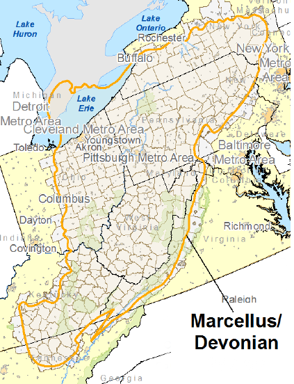 Natural Gas Resources in Virginia