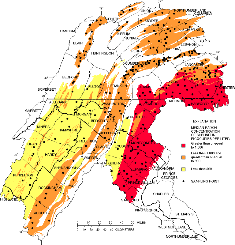 Radon In Virginia