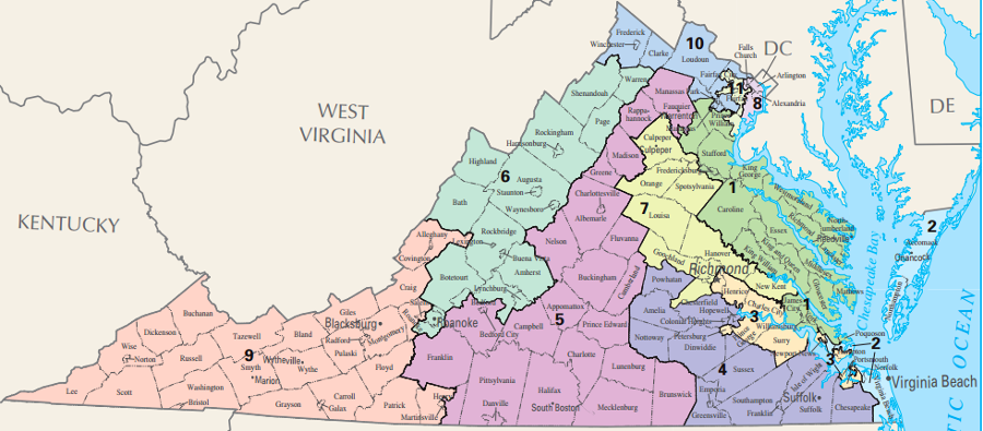 Marvelous Redistricting In Virginia Download Free Architecture Designs Ponolprimenicaraguapropertycom