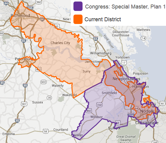A Special Master Appointed By A Federal Court To Revise Boundaries Of Us House District