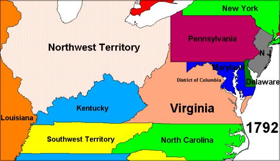 How Virginia Got Its Boundaries, by Karl R Phillips
