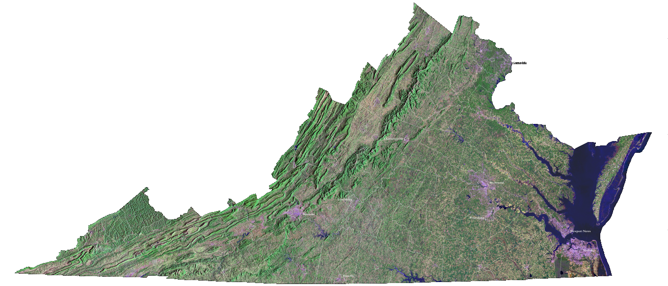 Geography Of Virginia