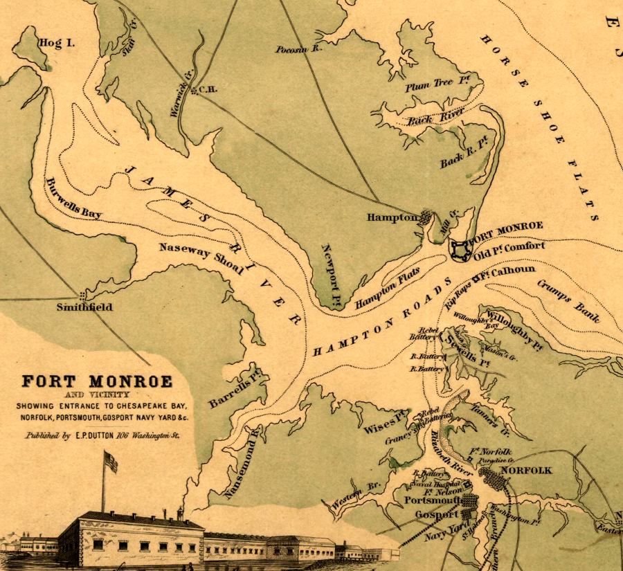 Fort Monroe on quantico road map, virginia road map, windsor road map, park county road map, north fort myers street map, fredericksburg road map, la crosse road map, charlottesville road map, redstone arsenal road map, west point road map, galax road map, rock island arsenal road map, great falls road map, gloucester road map, yorktown road map, west monroe la map,
