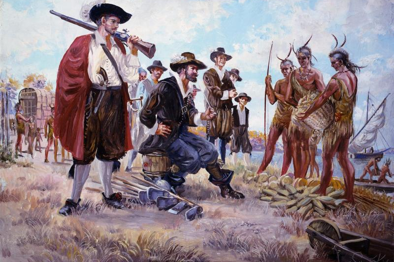 european and native american colonial relationship