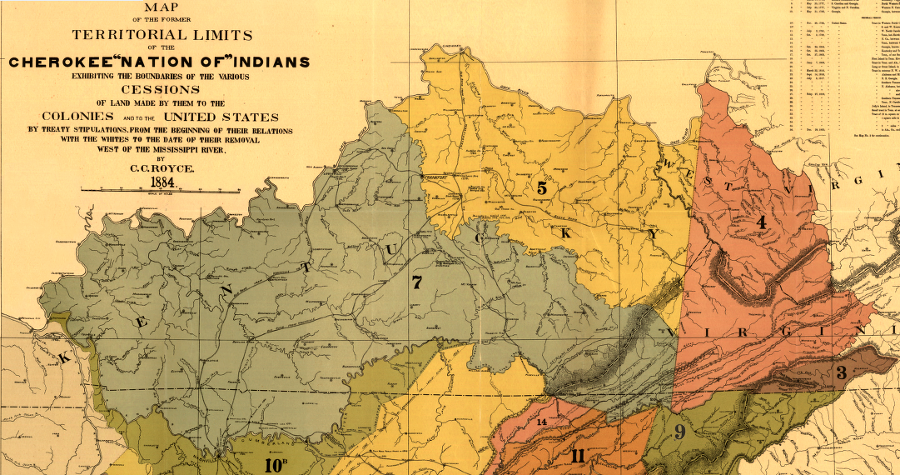 The Cherokee in Virginia