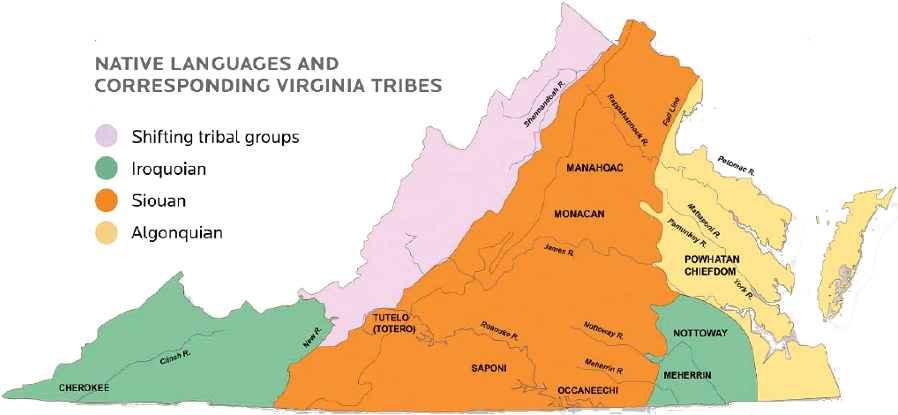 Native American Land Claims In Virginia