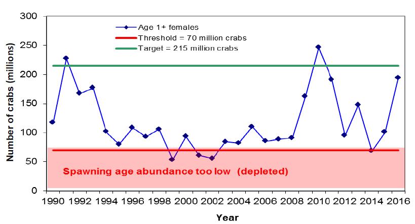 horseshoe crab age