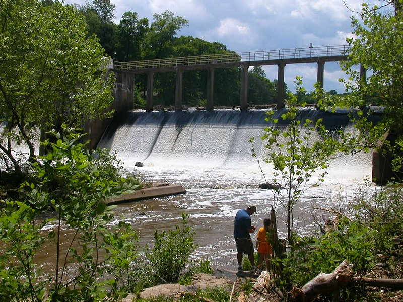 the 2011 earthquake may have cracked the foundation of Lake Jackson Dam in Prince William County, nearly 60 miles away from the epicenter