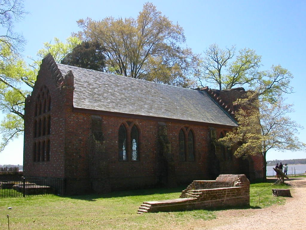 church at Jamestown