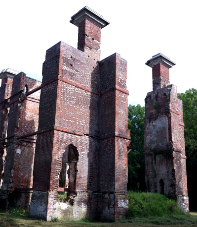 Rosewell, ruins of the Page family plantation (Gloucester County)