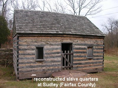 slave history is often obscured/omitted, but not at Sudley