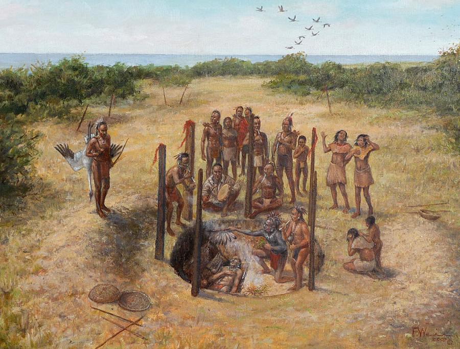 Native American Burial Sites in Virginia