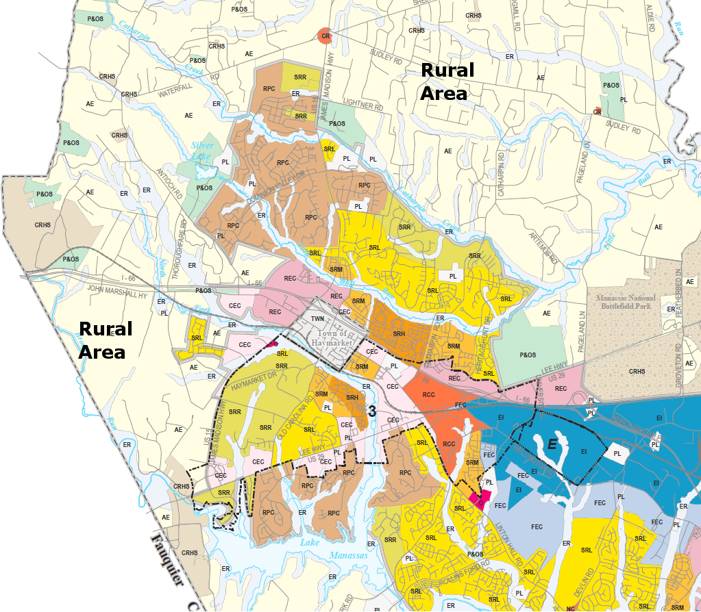 Prince william county zoning and planning
