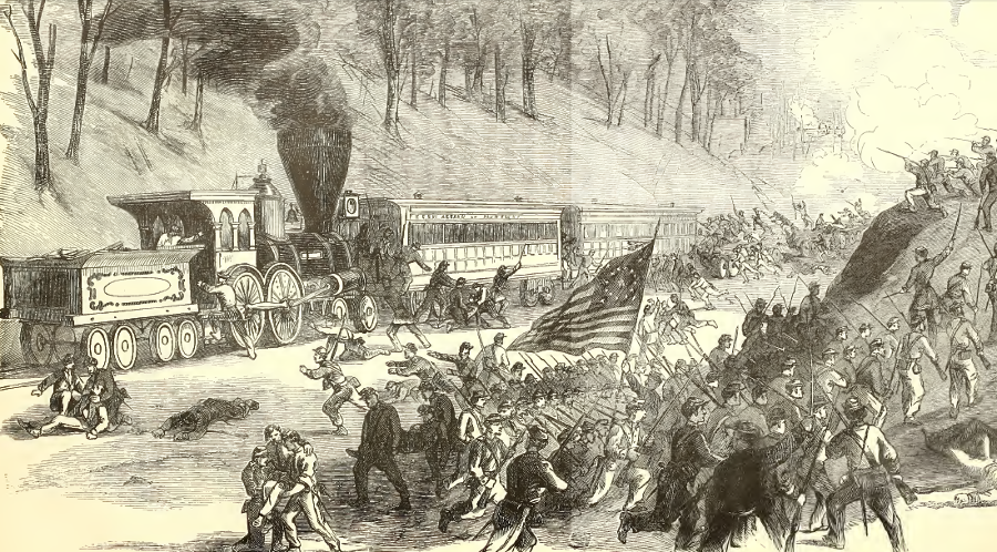 the history of the chicago railroads and its significance during the civil war How technology shaped the civil war the gradual knitting together of the nation by railroads including children and youth during the civil war.