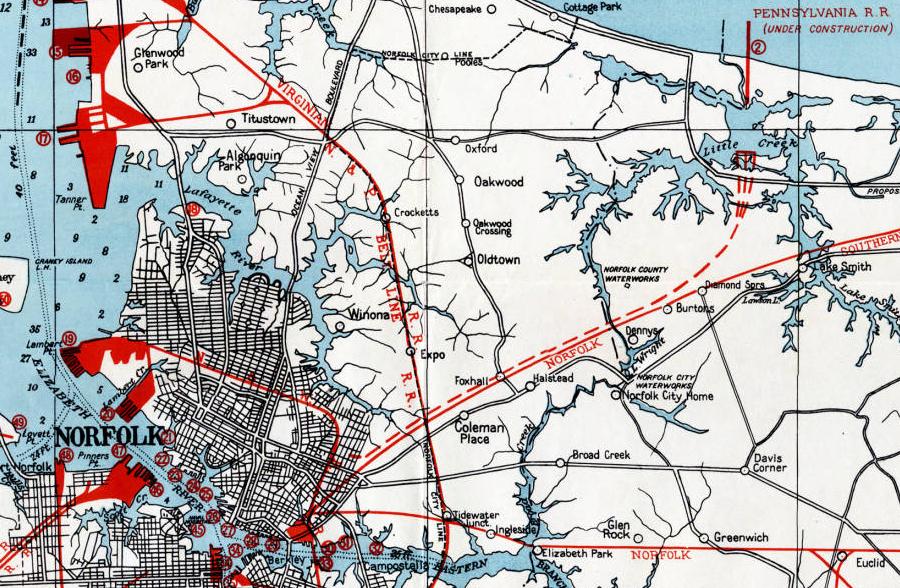 New York  Philadelphia And Norfolk Railroad
