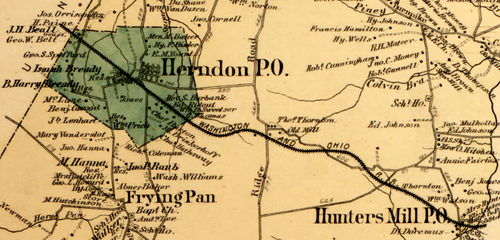 Alexandria investors built the Alexandria, Loudoun, and Hampshire Railroad to steer business to Alexandria from Loudoun County and (ideally) the Shenandoah Valley and the coal fields of Hampshire County