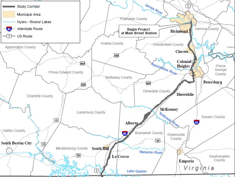High Speed Rail In Virginia