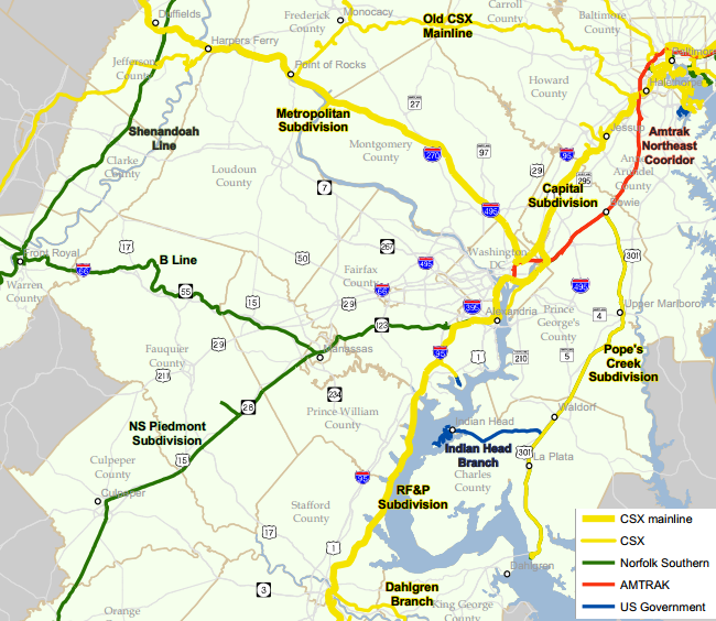 Railroads of Virginia