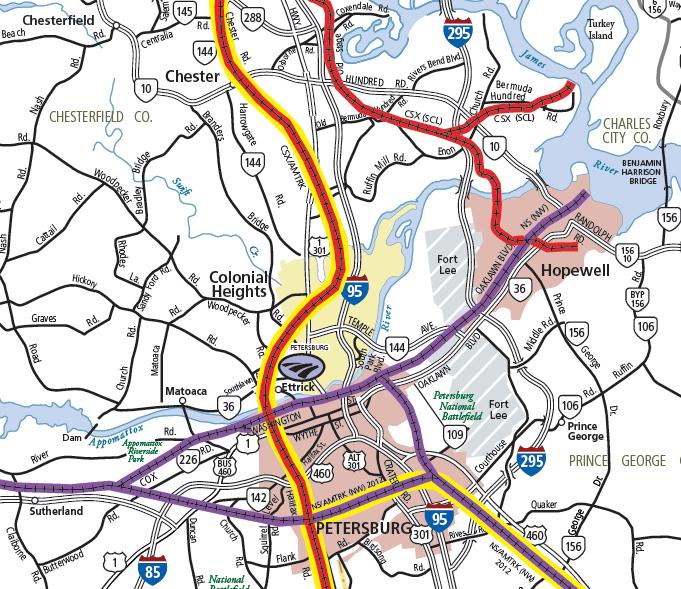 Railroads Of Virginia