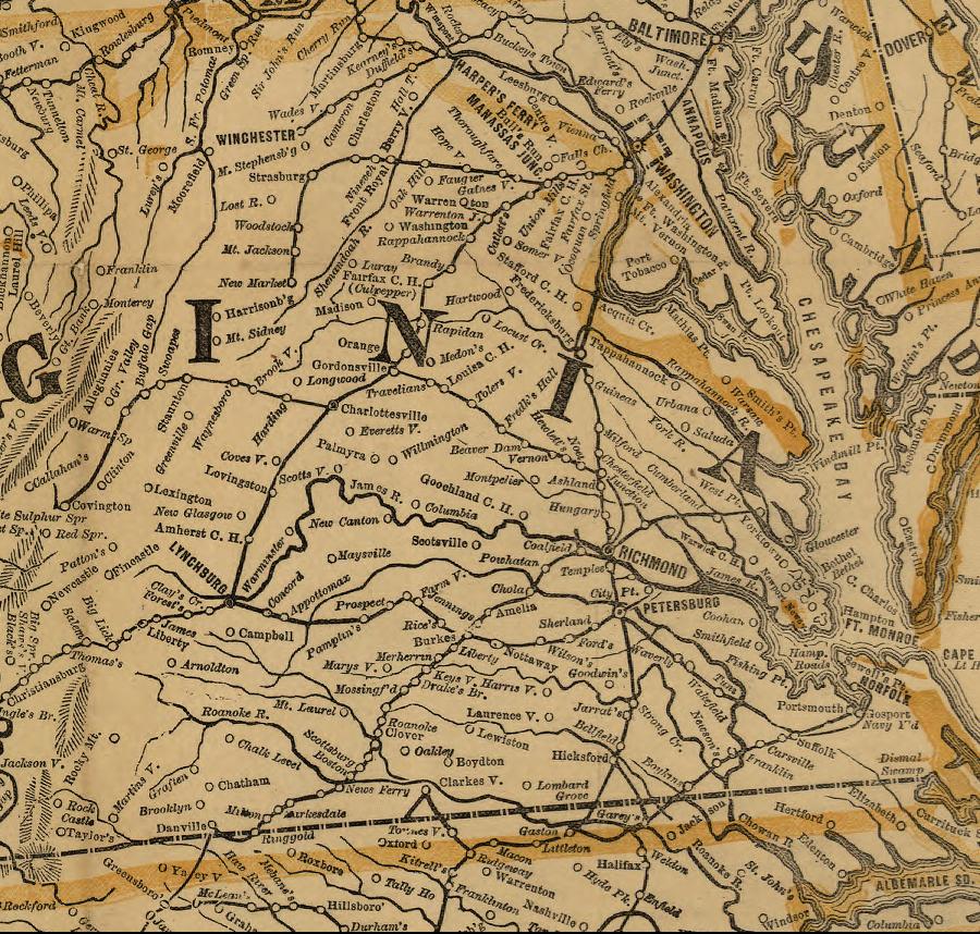 Railroads Of The Civil War
