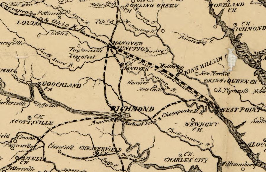 Railroads Of Virginia - Us railroad map 2016 ohio