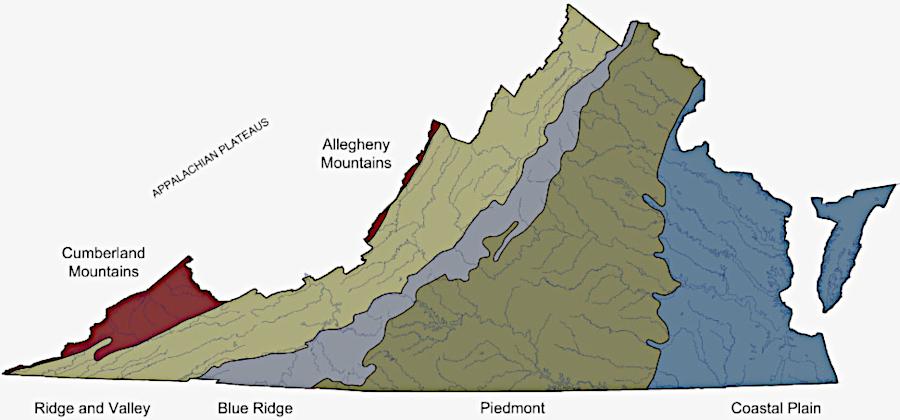 Regions Of Virginia Map Label Va Sol 2 8 By Lauren Antozzi Tpt