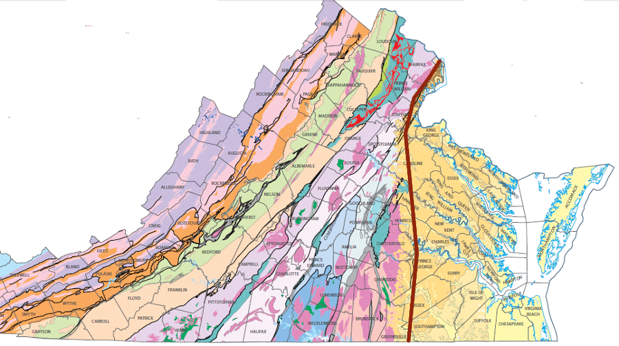 How the Fall Line Shaped Powhatans Area of Control