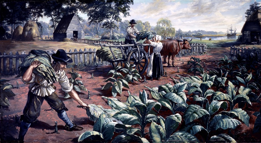 How Colonists Acquired Title to Land in Virginia
