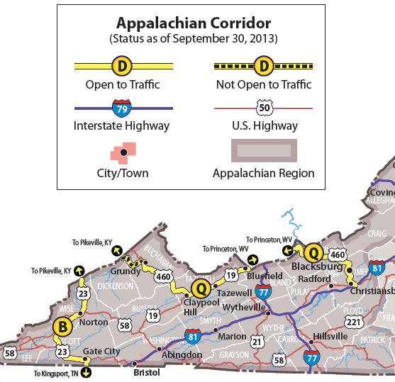 US 460 - A Highway Across Virginia