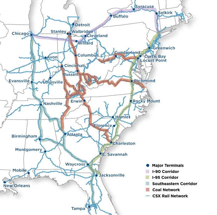 Coal and Transportation in Virginia