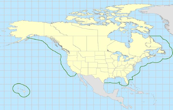 Cruise Ships In Virginia - Us eez map