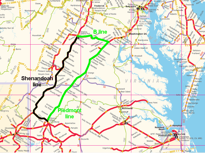 Virginia Inland Port VIP and Intermodal Terminals
