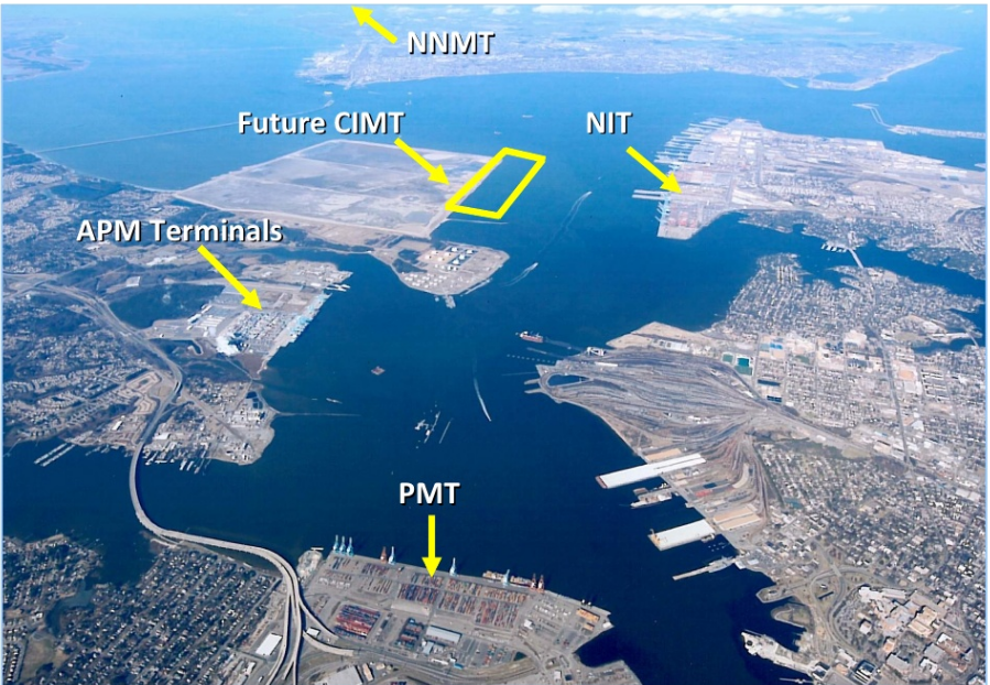 Terminals In Hampton Roads Include Newport News Marine Terminal Nnmt Norfolk International Terminals