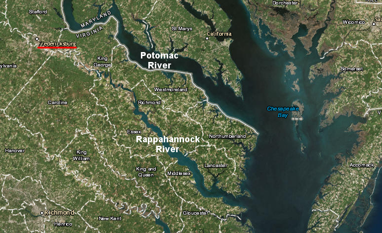 Port Cities in Virginia