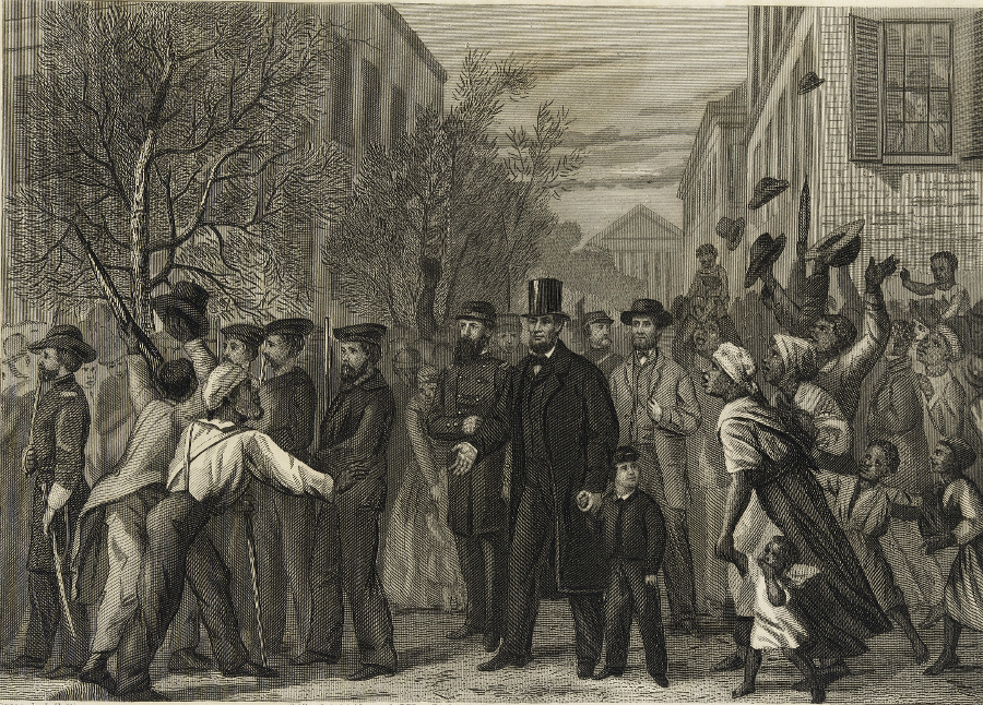 dfd25ecde288 Abraham Lincoln visited Richmond on April 4, before General Robert E. Lee  surrendered at