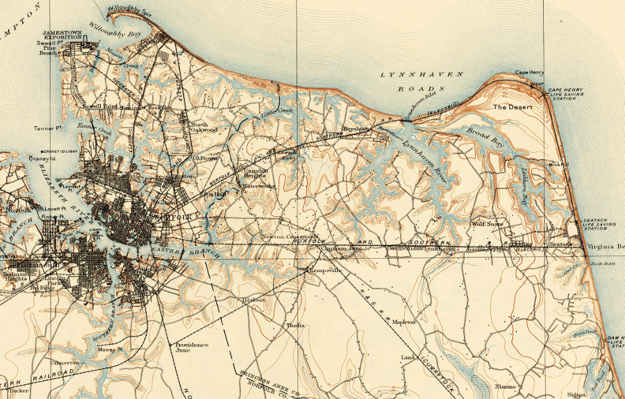 In 1907 Norfolk Was A Thriving Port City And Princess Anne County Was A Rural