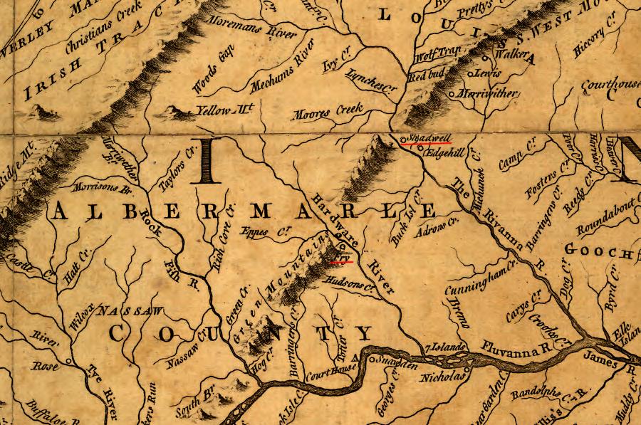 Albemarle County   Geography of Virginia